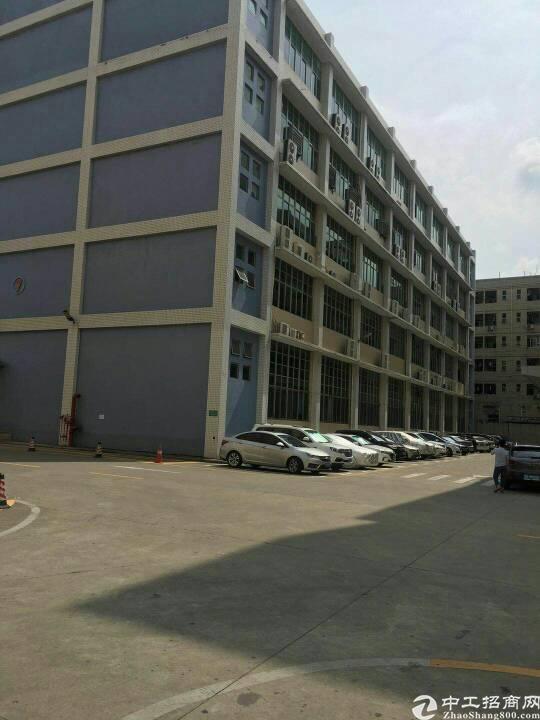 龙华主干道边嘉安达工业园新出2000平整层带精装修厂房