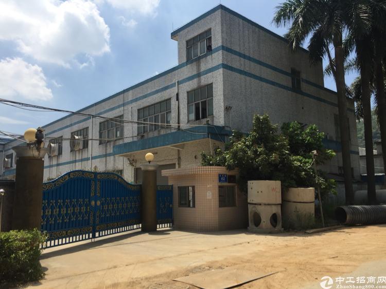 公明田寮3000平方米独院厂房出租