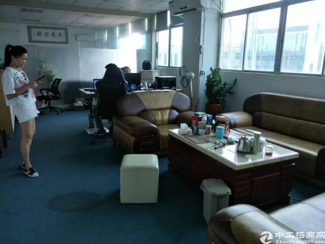 (出租)固戍地铁口附近厂房办公室500平带精装