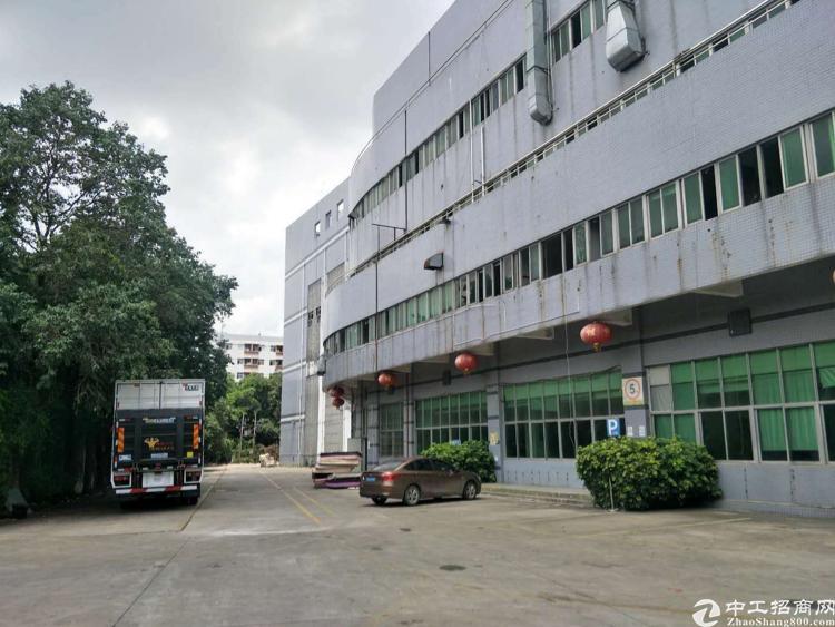 福永沿江高速附近 独门独院22000平厂房招租 大小可分