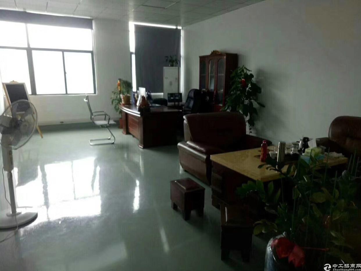 福永桥头地铁口附近楼上装修写字楼360平方出租