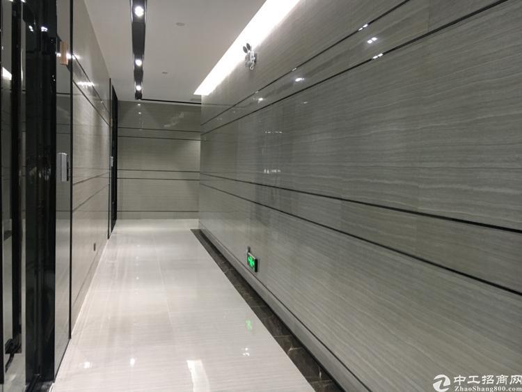 横岗地铁站写字楼精装修招租112平起分,58元
