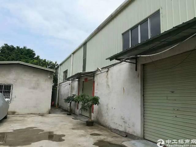 高埗镇中心位置新出经典小独院:九成新钢结构厂房700㎡