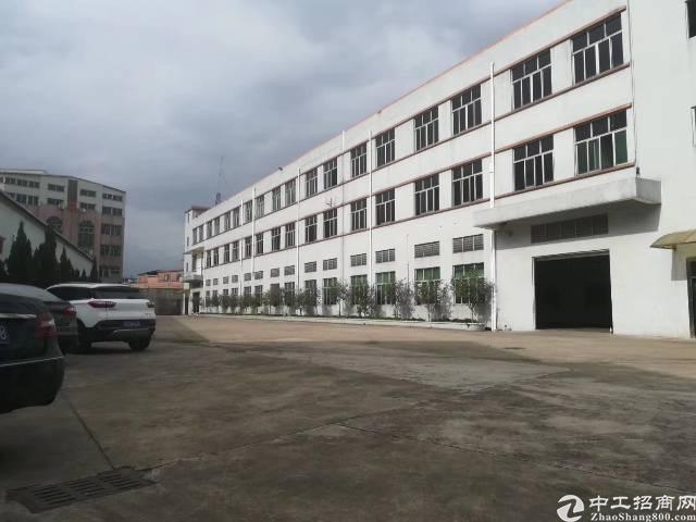 虎门镇靠长安南栅第五工业区独院厂房一楼562㎡实际面积招租