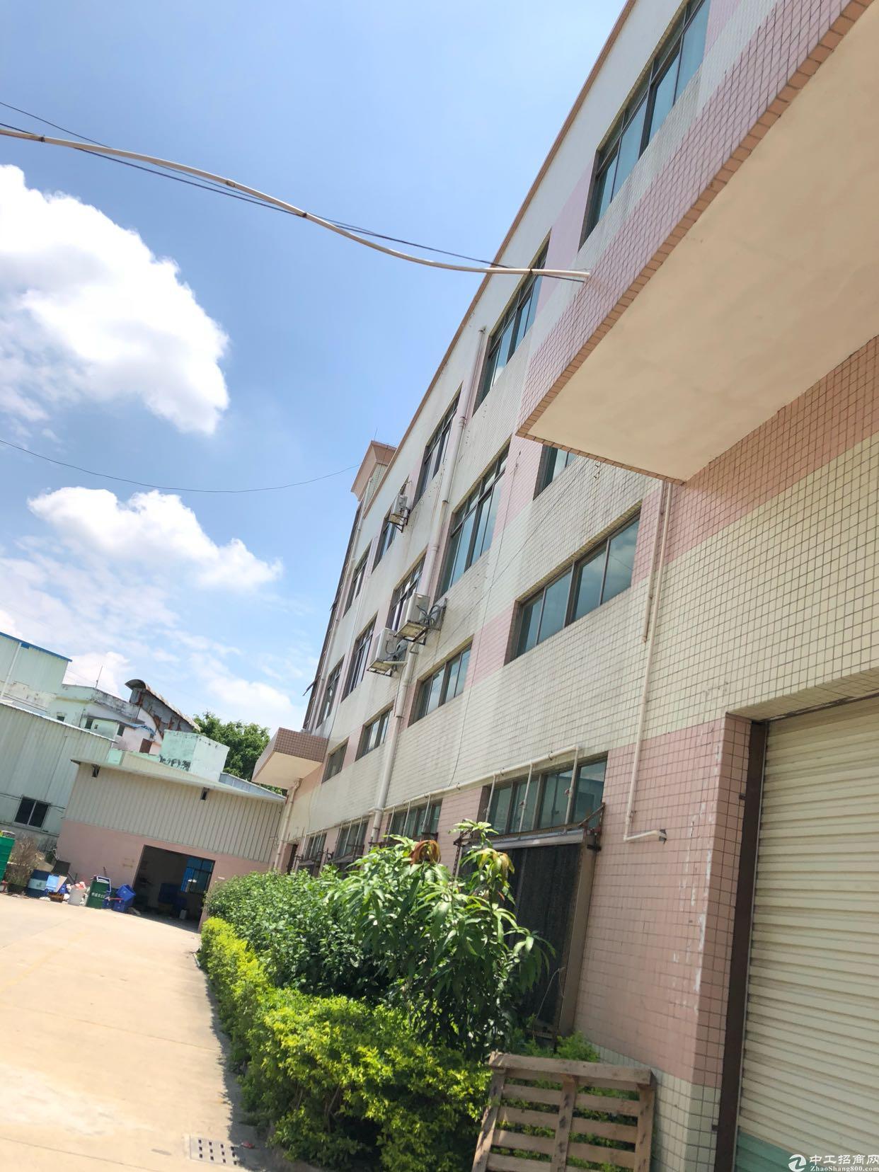空地超大,层高6.5米带行车,原房东厂房,电250。