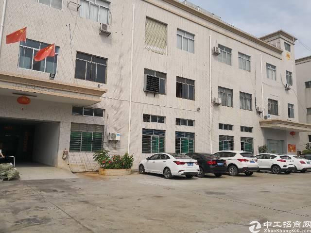 虎门标准一楼厂房出租面积1600平租11元电315kva