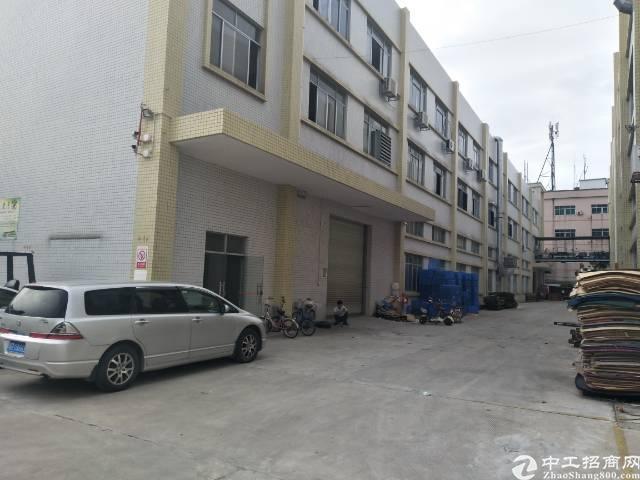 企石原房东独院两栋标准厂房1-3层5000平方,独立办公楼