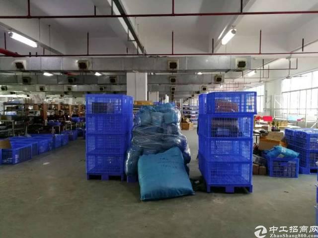 深圳平湖富民工业区新出三楼厂房1350㎡,原房东