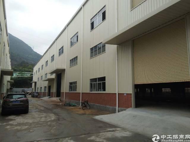 虎门镇怀德村新空钢结构厂房2400平,滴水10米,可办环评
