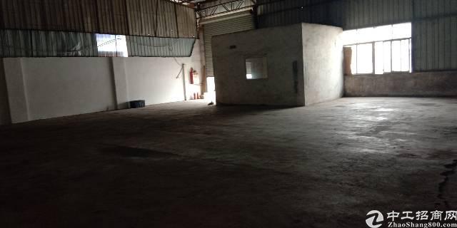 大岭山杨屋工业区内单一层400铁皮厂房出租