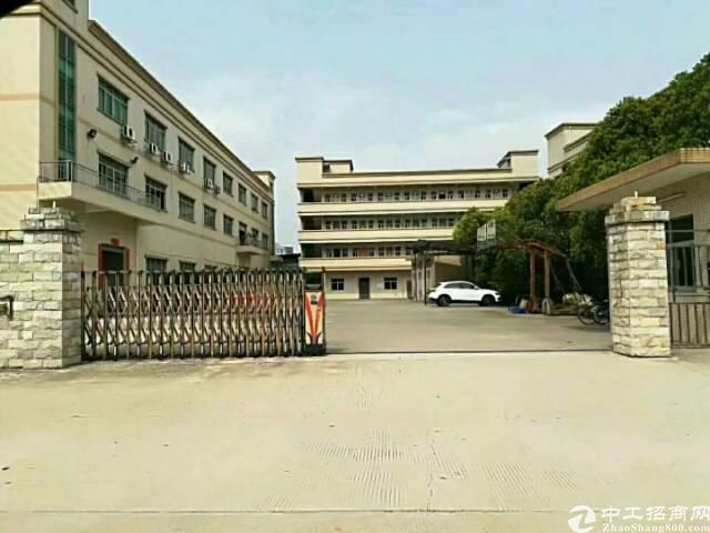 虎门镇沿江高速出口附近,独院约8000㎡形象极佳厂房,