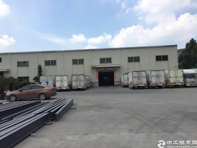 虎门镇赤岗村原房东单一层1100㎡实际面积出租,电可过户
