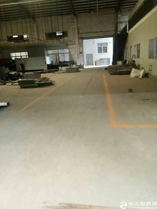 大岭山镇连平连马路大型工业园新空出单一层钢构厂房