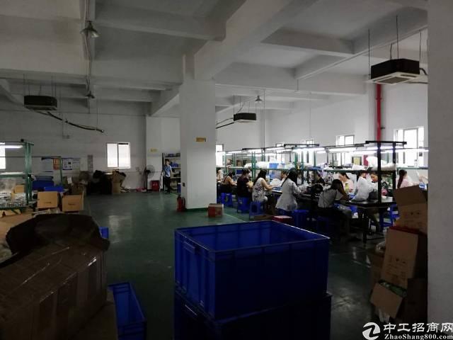 福永桥头地铁站附近新出楼上800平厂房出租