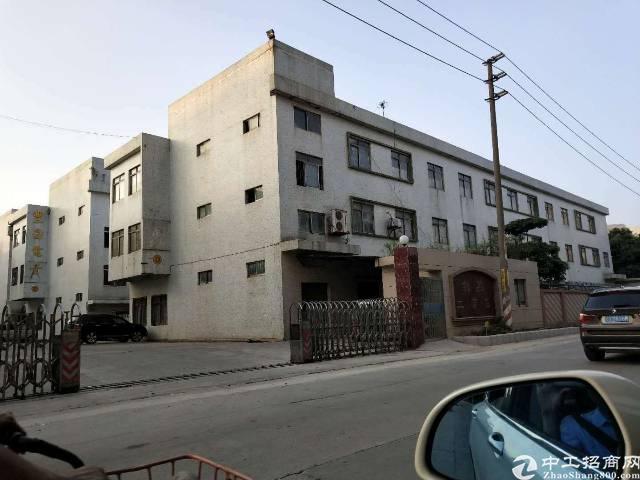 虎门镇新联村独门独院厂房出租厂房面积3600