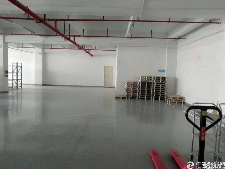 福永和平沿江高速出口,独院厂房11520平米、公摊小、