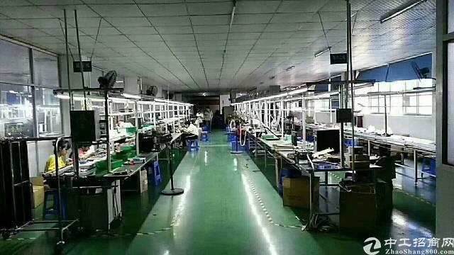 虎门镇龙眼工业区实业客分租标准厂房二楼1850平米