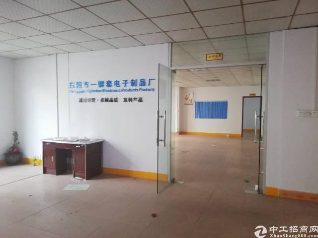 原房东出租600平米,现成办公室,可做电子手工