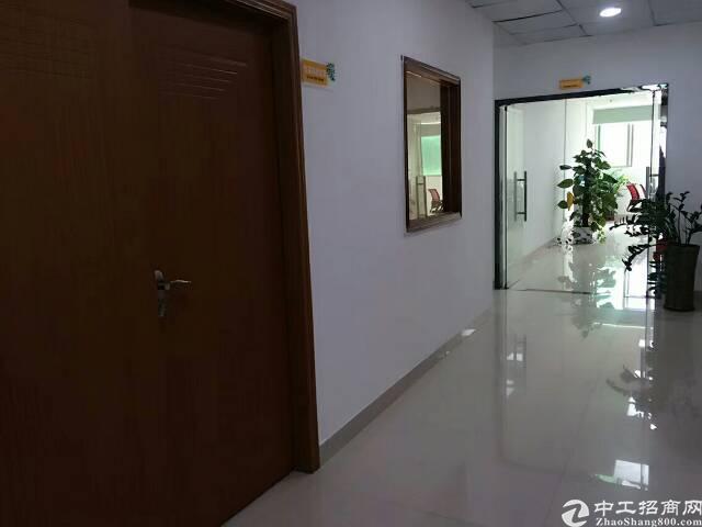公明南光高速出口新出楼上1600平方带装修厂房出租
