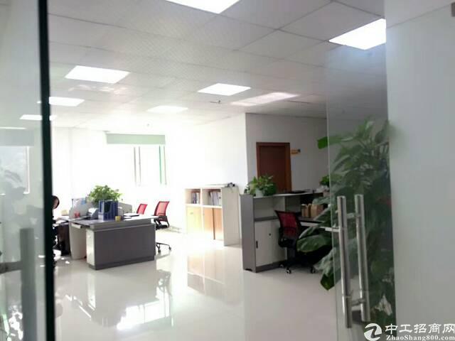 公明南光高速出口新出楼上1600平方带装修厂房出租-图2