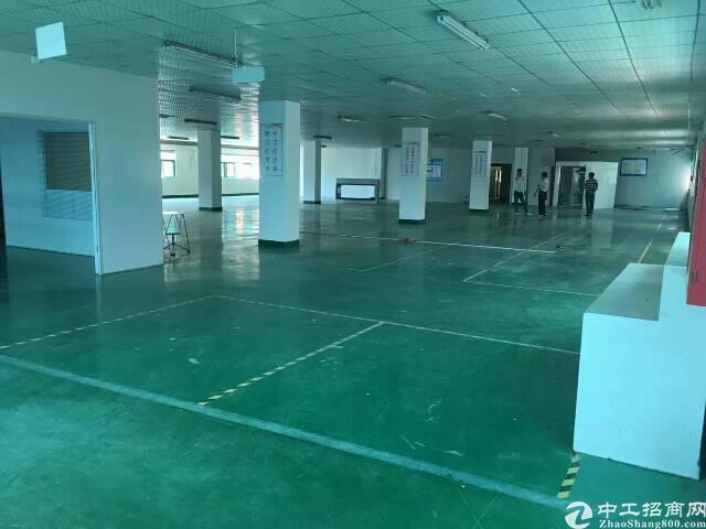 平湖原业主楼上1300平方米带装修厂房招租