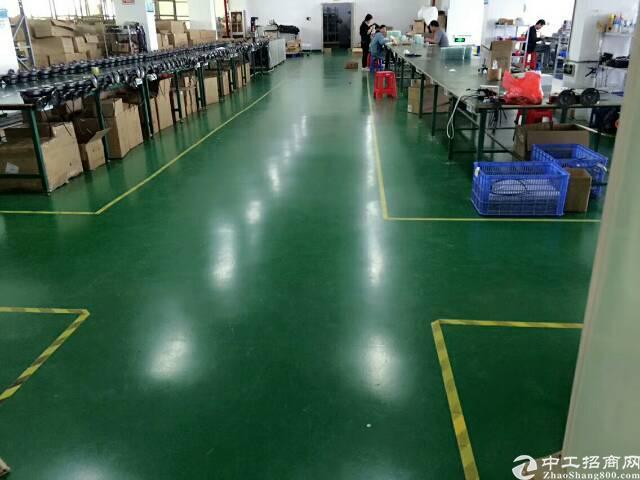 公明南光高速出口新出楼上1600平方带装修厂房出租-图3