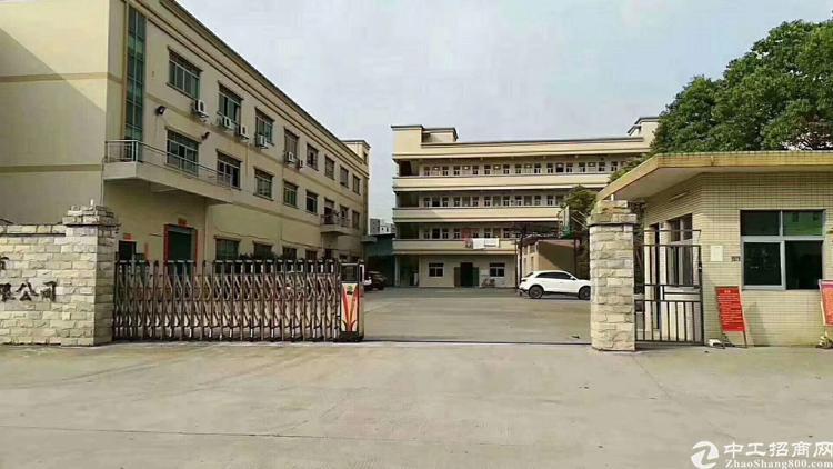 福永塘尾一楼1700平原房东厂房 公摊面积小