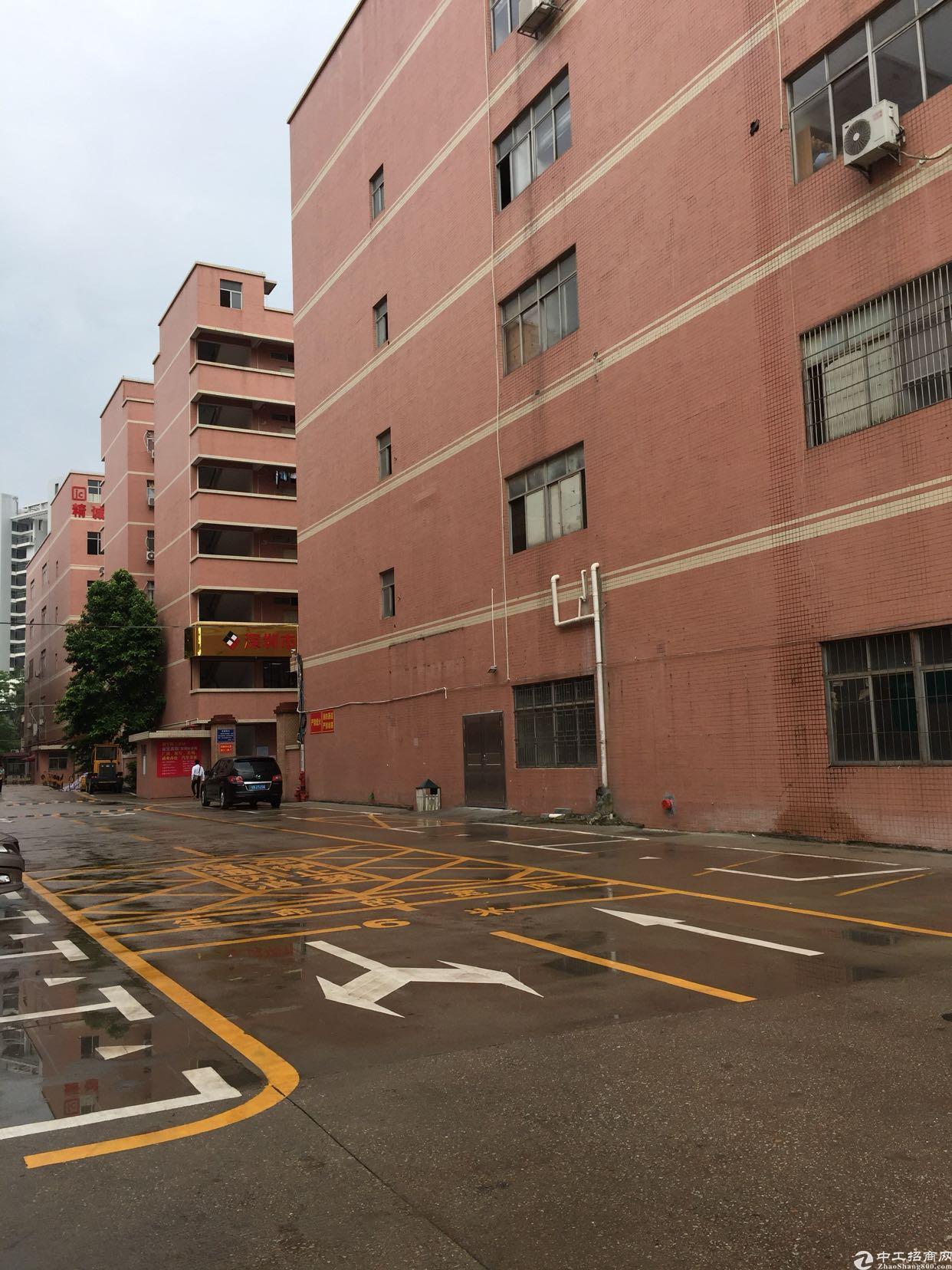 龙岗宝龙高新产业园红本有喷淋2000平方出租