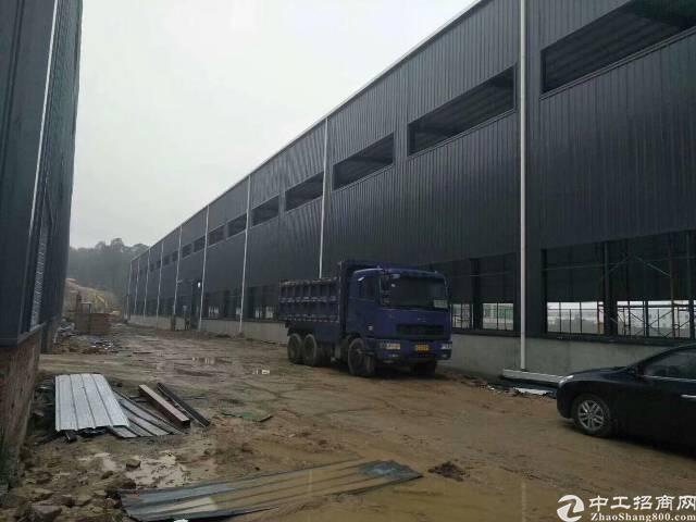 厚街镇广深高速沿江高速新出独院全新钢构单一层12米高厂房出租