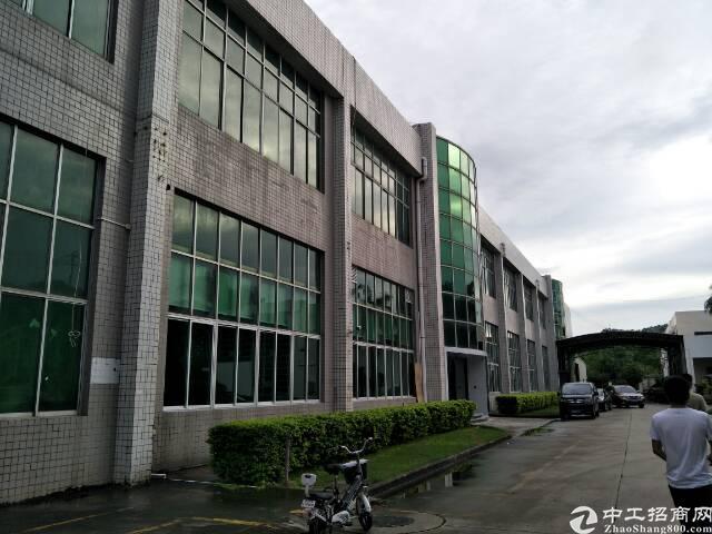 坪山坪葵路旁新出楼上整层1100平现成办公室带装修-图8