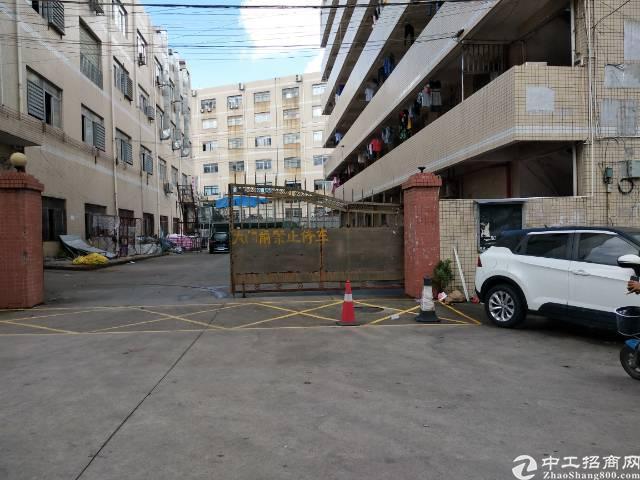 龙岗南联新出厂房一楼1300平现成行车厂房招租。