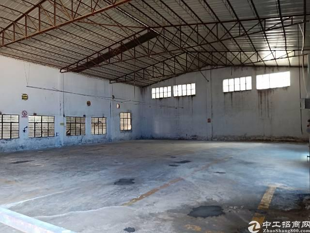 观澜樟坑径原房东钢构出租4500平。