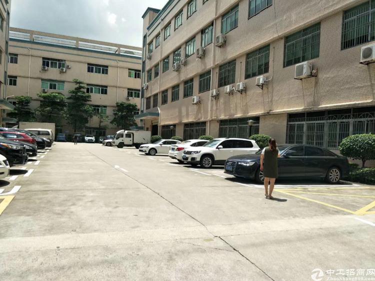 出租观澜大和花园式工业园4楼1200平米标准厂房
