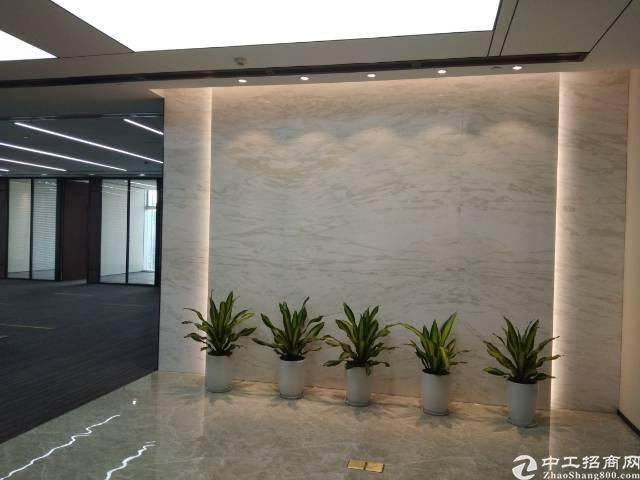 宝安中心地铁口200米精装修甲级写字楼招租