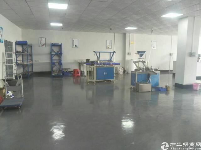 石碣原房东标准厂房二楼600方,租6000元