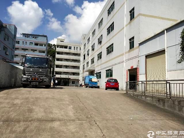 平湖华南城边上新出一楼2000平方标准厂房招租