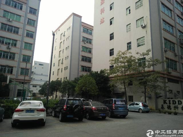 西乡固戍南昌村经典独院6楼整层1800平方厂房招租