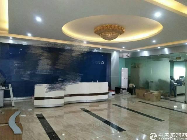 长安沙头新出3楼带豪华装修标准厂房