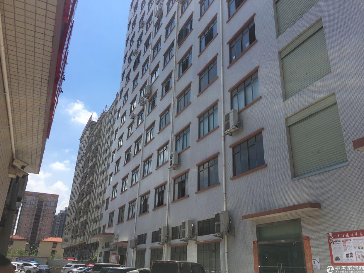 长安街口新出楼上550平精装修厂房