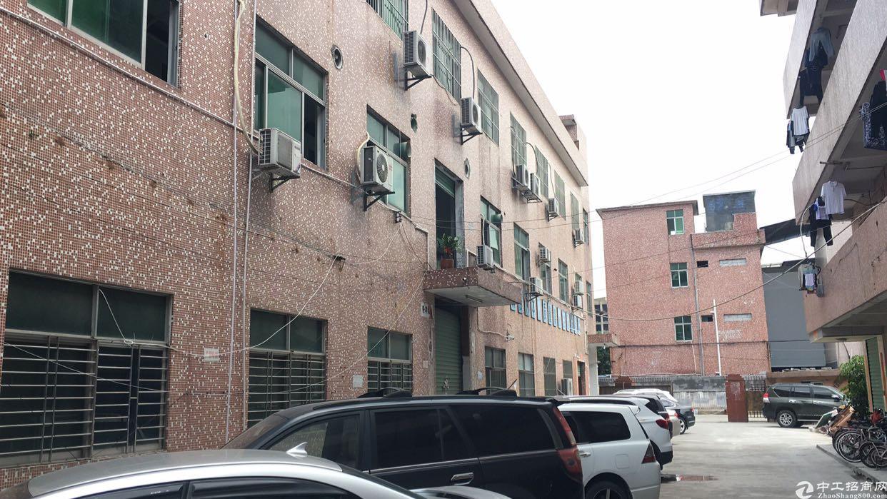 横岗安良转租客厂房850平带办公室地坪漆