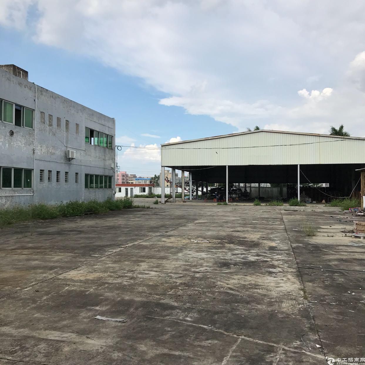 惠城区新出单一层7200平方厂房出租