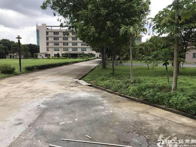 观澜梅关高速出口花园厂房独栋出租-图3