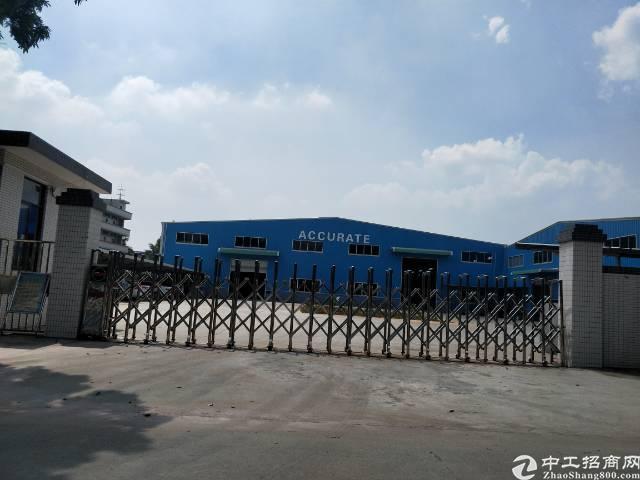企石镇实业工厂分租钢构厂房1000平方