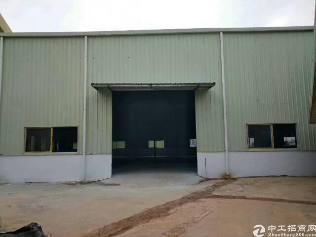 黄江靠深圳钢构厂房400平出租