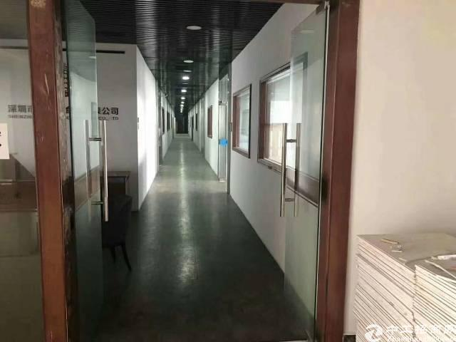 福永凤凰立交107国道边,新出楼上整层1900平方,独立电梯