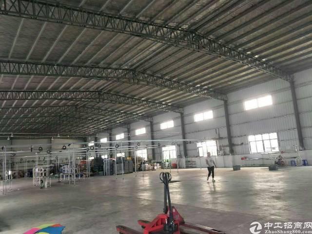 龙岗钢构厂房2500平出租滴水6米,空地超大