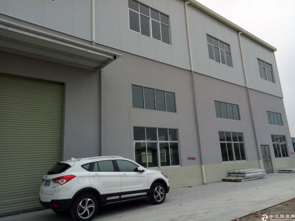 清溪原房东双层钢构4500平一楼滴水6米厂房出租
