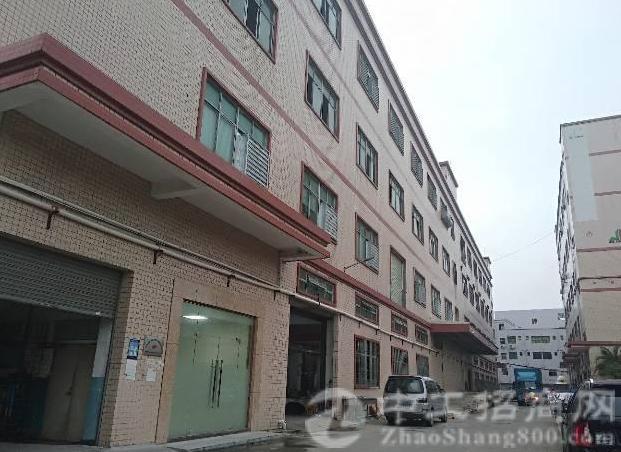 公明田寮南光高速口旁新出楼上红本厂房1330平方-图3