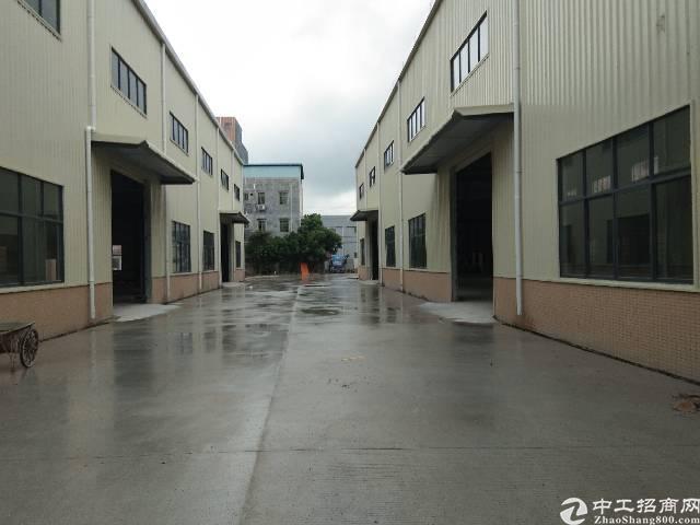大岭山原房东刚构厂房单一层3400平方米