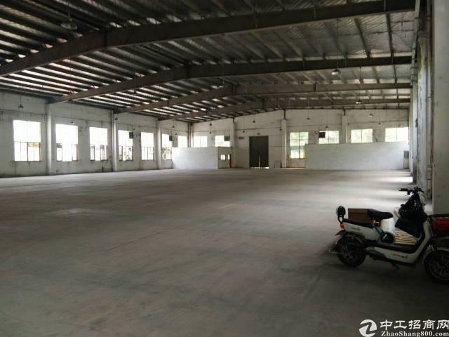 惠州水口工业区内独院独院1300平钢构厂房出租!-图2